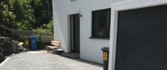 Neubau-Einfamilienhaus-Holzständerbauweise